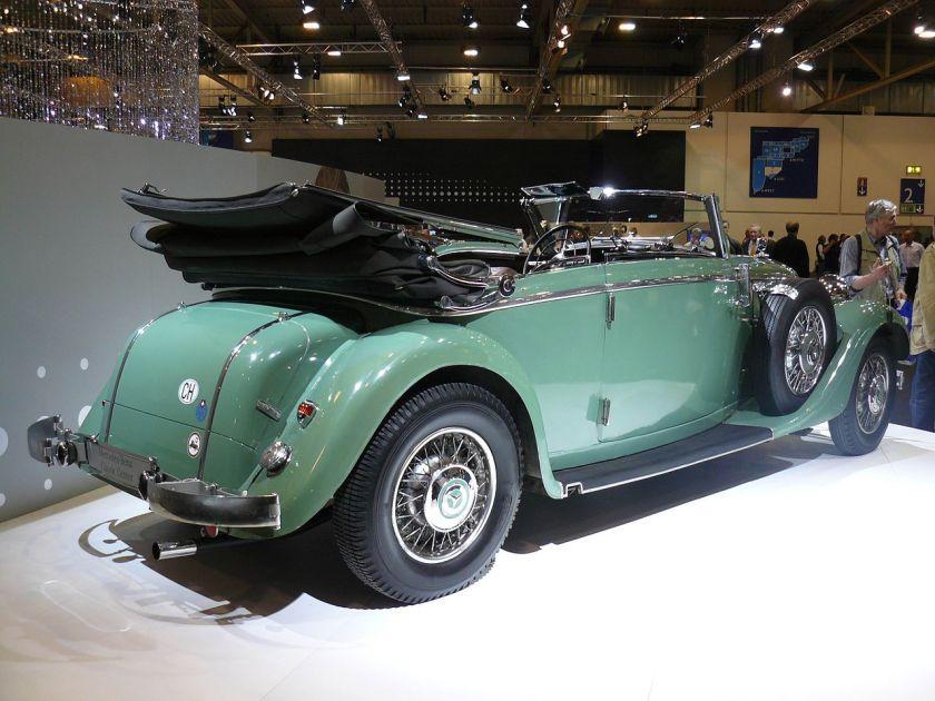 1935 Mercedes Benz W18 290 A Cabriolet