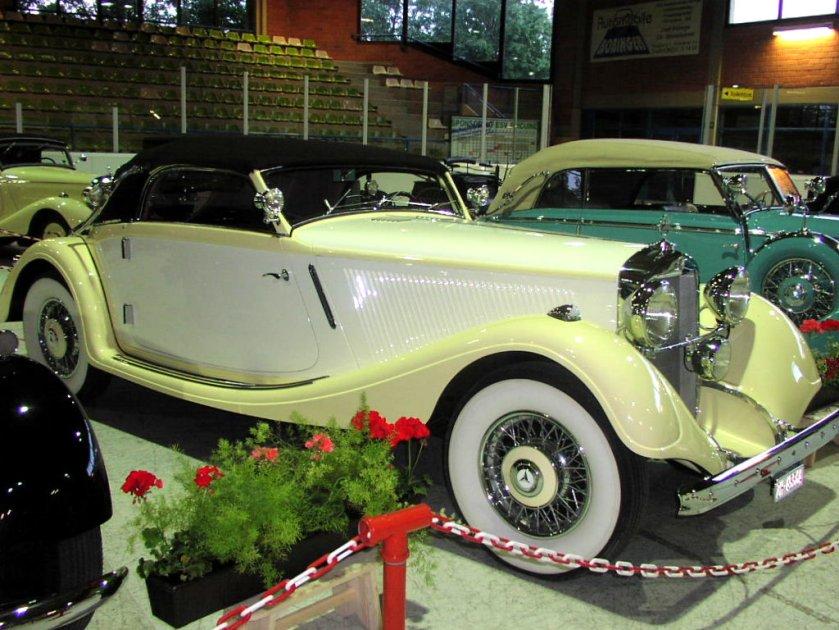 1935 Mercedes Benz W18 290 LWB Cabrio A
