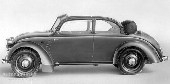 1936-39 Mercedes Benz Typ 170h - W 28 - cabriolet