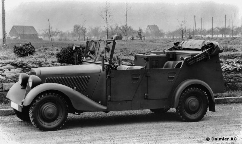 Mercedes-Benz Typ 170 V, 38PS, Kübelsitzwagen, Bauzeit: 1936 - 1942.