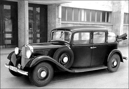 1936 Mercedes Benz 260-D