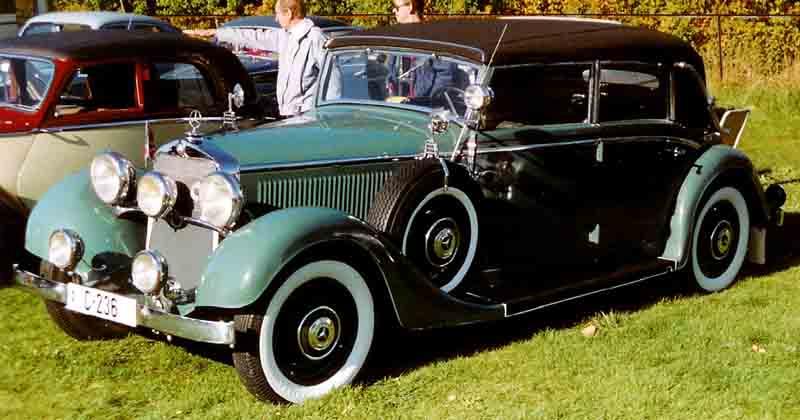 1936 Mercedes Benz 290 Cabriolet D W18