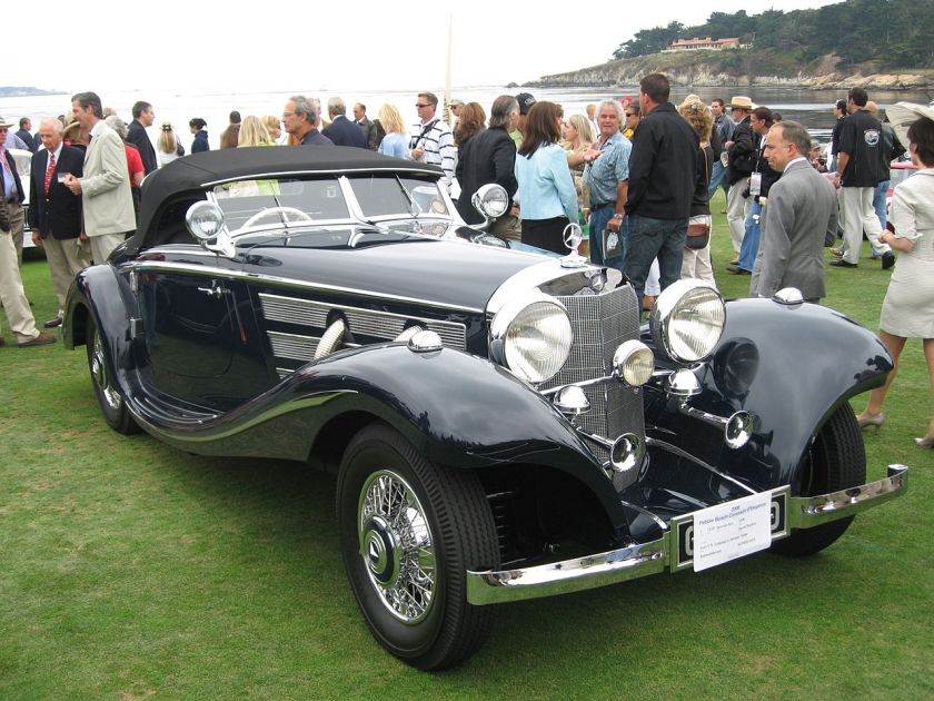 1936 Mercedes Benz 500 K Spezial-Roadster W29
