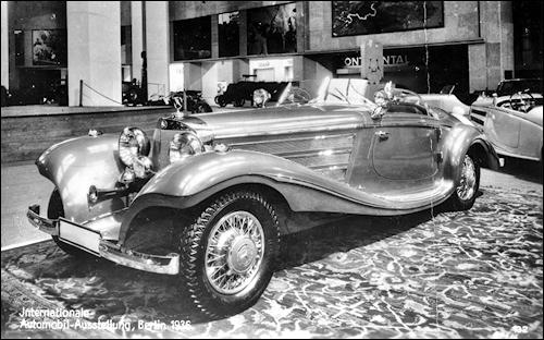 1936 Mercedes Benz 500K Spezial Roadster w29 iaa