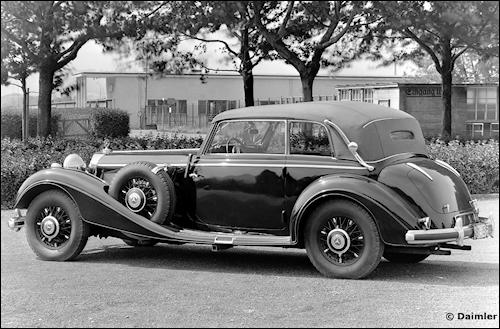 1936 mercedes benz 540k cabrio b