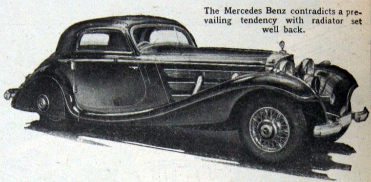 1936 Mercedes Benz a