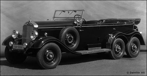 1936 mercedes benz g4 w31