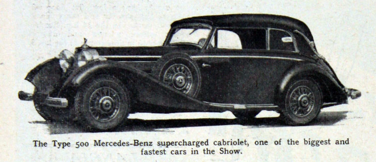 1936 Mercedes Benz type 500