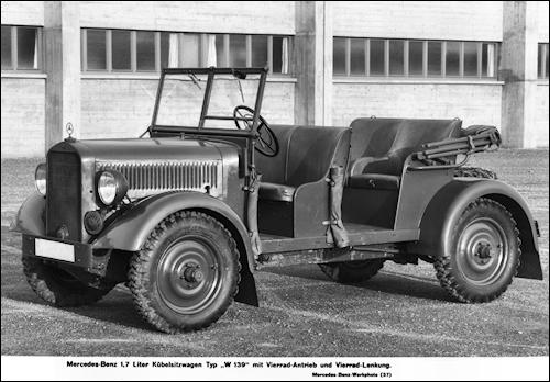 1936 mercedes benz w139-1