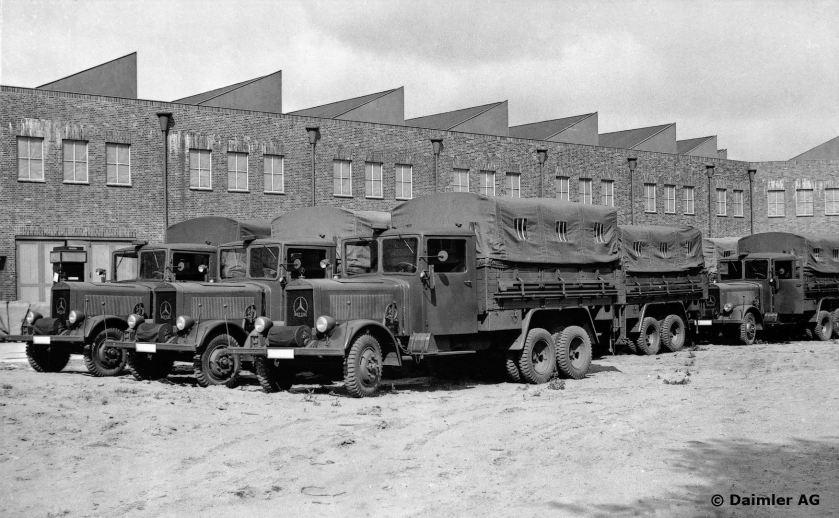 1936 Plant 40, Berlin-Marienfelde 2. Off-road 3-tonne truck,