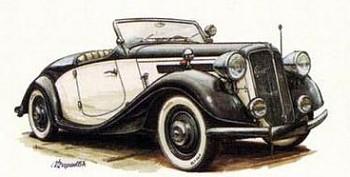 1936 Praga lady roadster