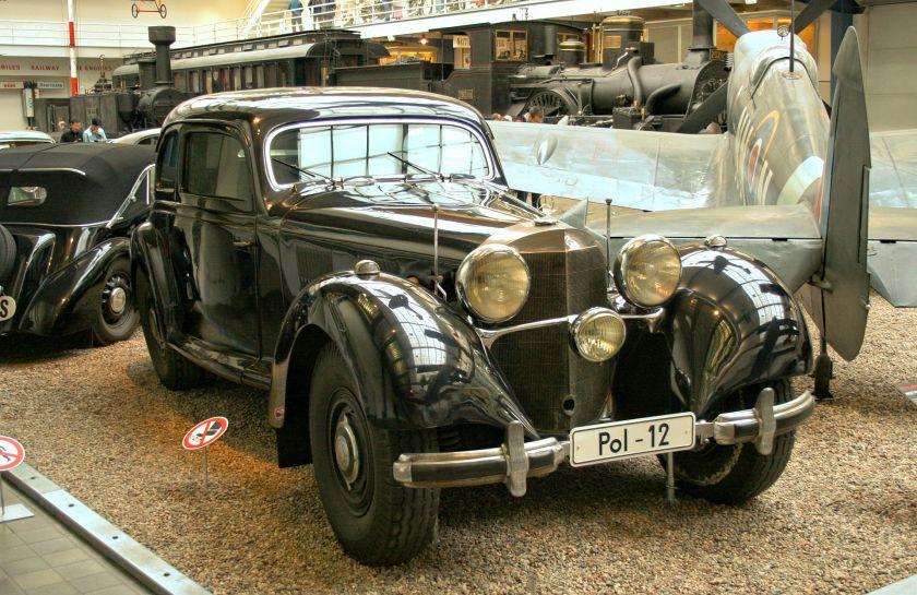 1936+1939-42 Mercedes Benz 540 K W24