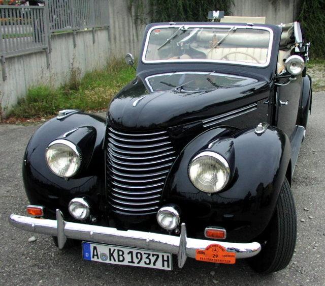 1937-38 Mercedes Benz 170 V mit tschechischer Sodomka-Karosserie