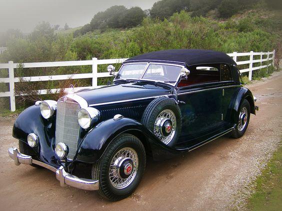 1937 Mercedes-Benz 320 Cabriolet B.