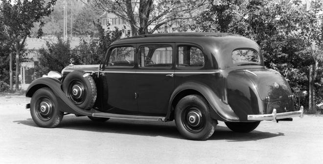 1937 Mercedes-Benz 320 (W 142) Saloon was a modern luxury-class touring car.