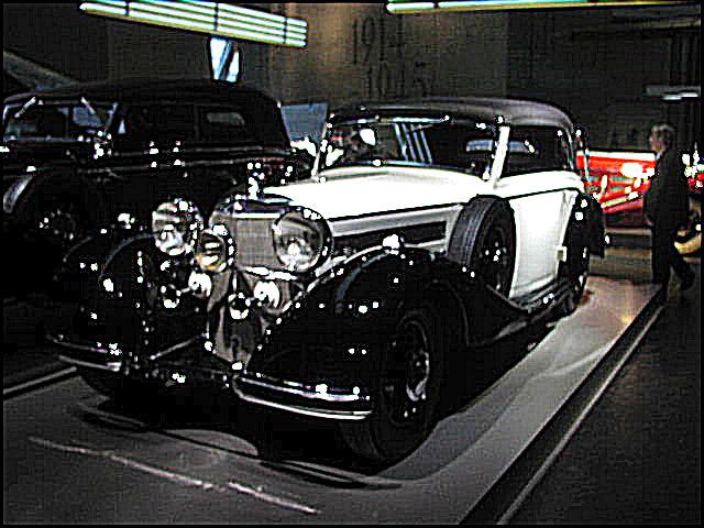 1937 Mercedes Benz 540K Cabriolet B
