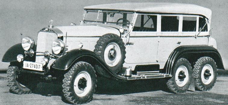 1937 Mercedes Benz G4
