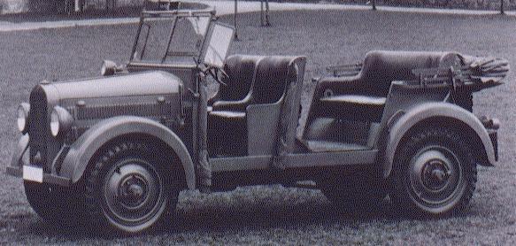 1937 mercedes benz g5 kübelwagen
