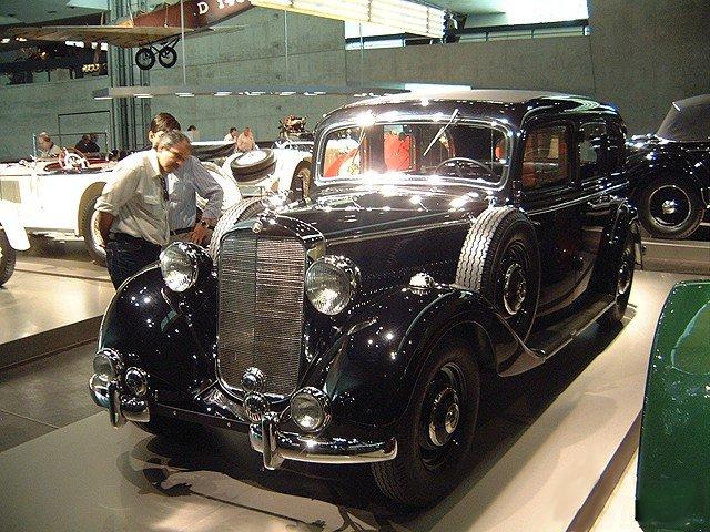 1938 (1936-40) Mercedes Benz 260D W138