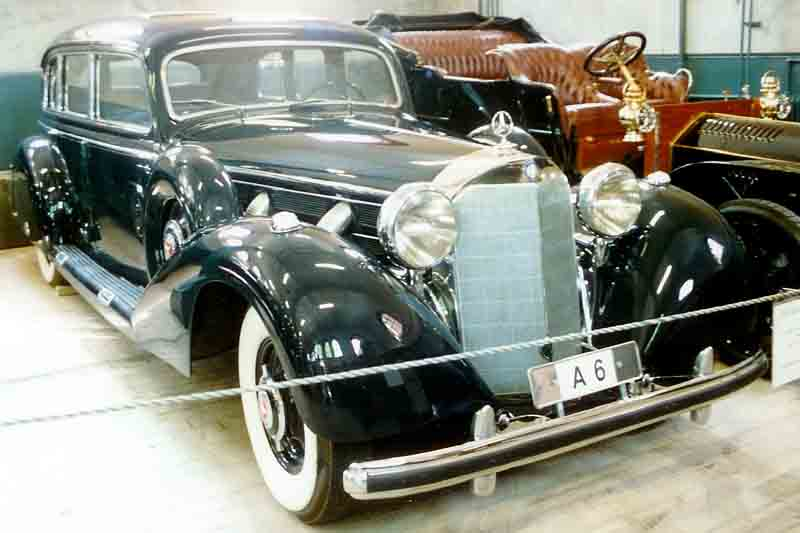 1938-43 Mercedes-Benz W07-W150 or 770 Pullman-Limousine
