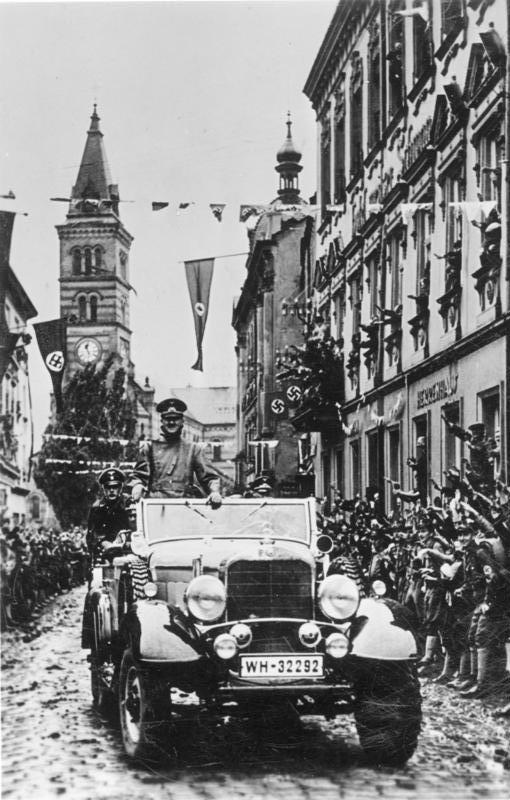 Anschluß sudetendeutscher Gebiete