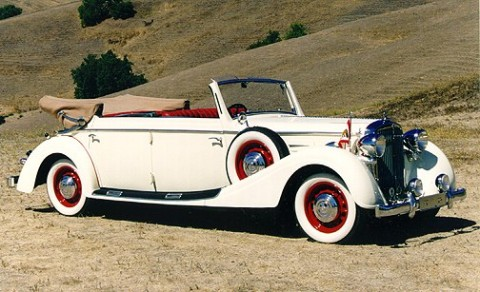 1938 Maybach SW38 Glaser Cabriolet