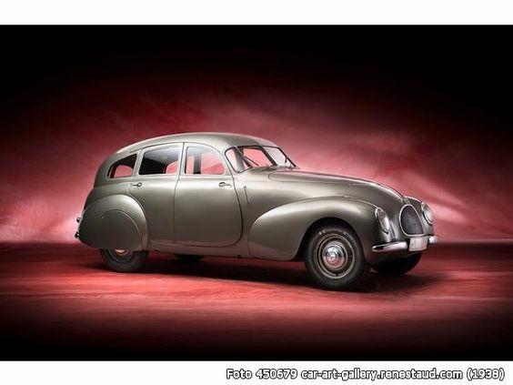 1938 MERCEDES-BENZ 170 V coachwork Dr. Wunibald Kamm.