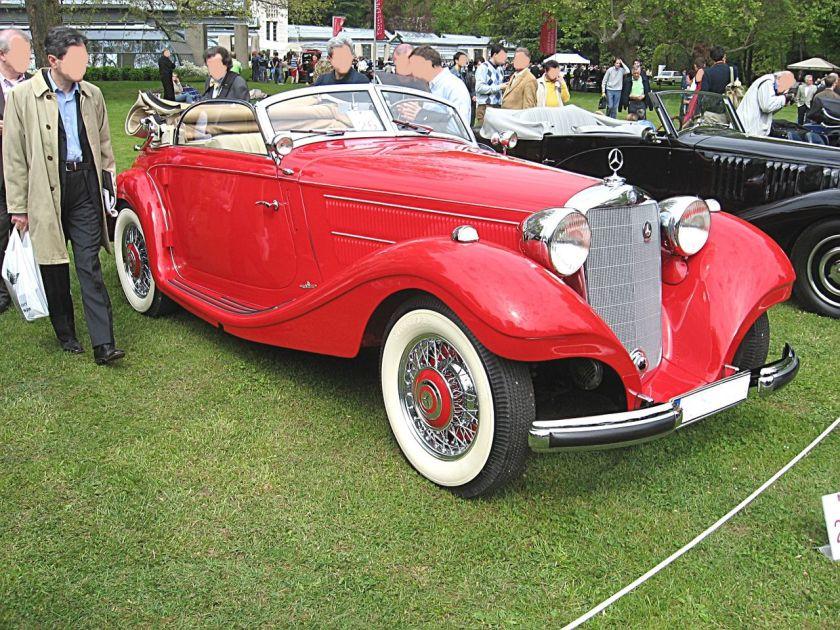 1938 Mercedes Benz 320-Cabriolet
