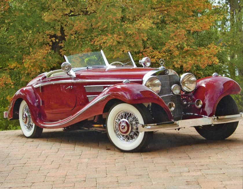 1938 Mercedes Benz 540-K Special Roadster