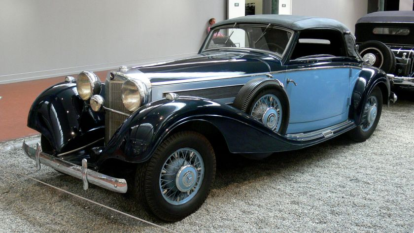 1938 Mercedes Benz 540K Cabriolet (2)