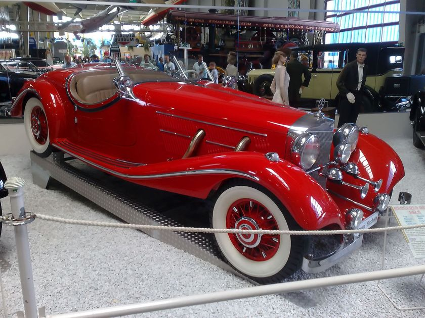 1938 Mercedes Benz 540k Special Roadster
