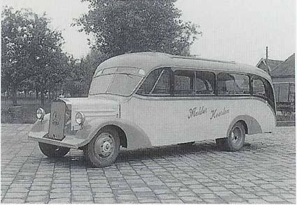 1938 Mercedes Benz Den Oudstenbus van Mulder
