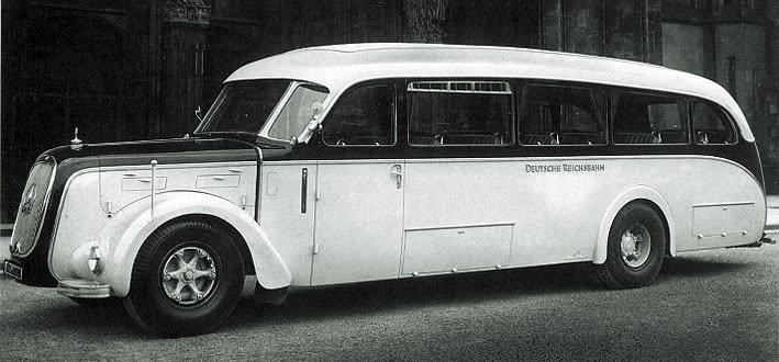 1938 Mercedes-Benz LO 3750 Autobahn