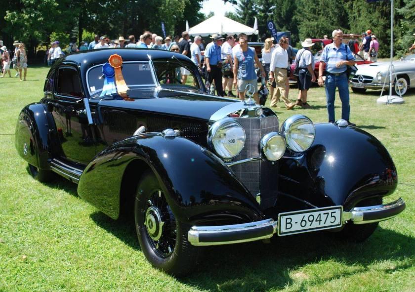 1938 Mercedes Benz W29 540K Autobahn-Kurier