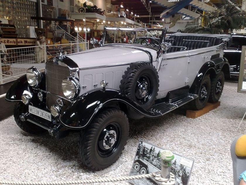 1938 Mercedes Benz W31 typ G4