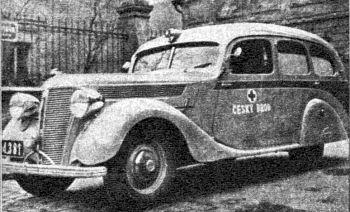 1938 Praga Lady jako ambulans