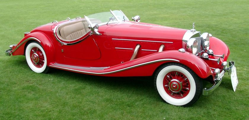 1939 Mercedes-Benz 540K W29 Roadster