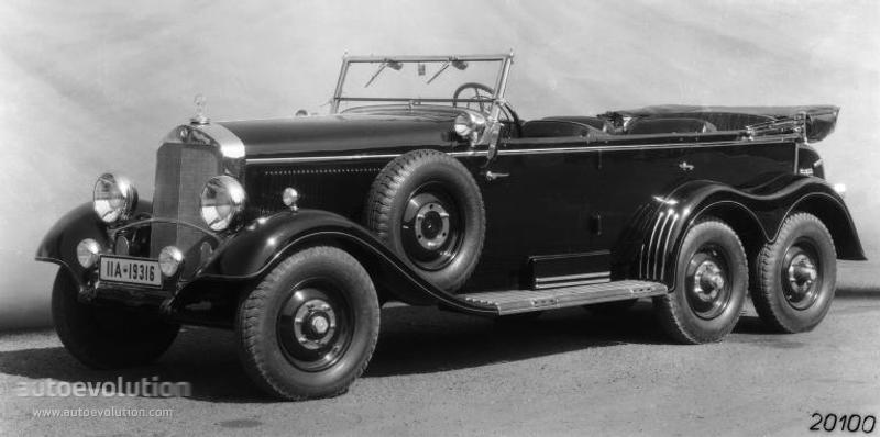 1939 MERCEDES BENZ G4-W31-2596 10