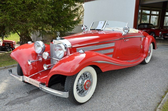 1939 Mercedes Benz Spezial Roadster