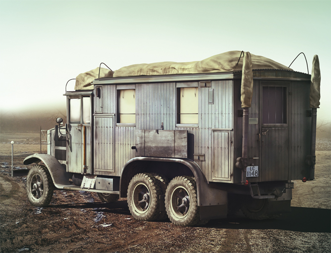 1940 Krupp L3H163 Kfz.72, WWII German Radio Communication Truck