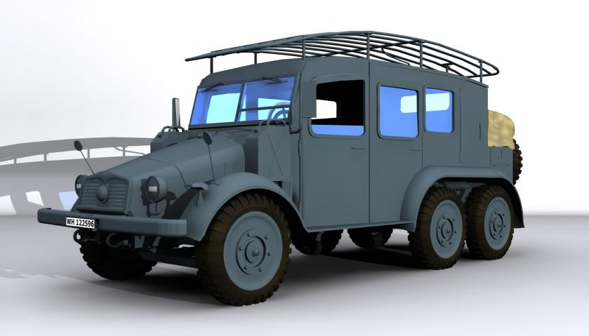 1940 Krupp Protze Kfz19