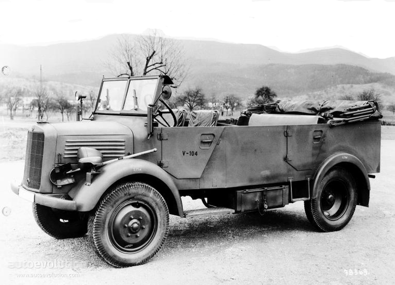 1941-43 MERCEDES BENZL1500A-2594 1