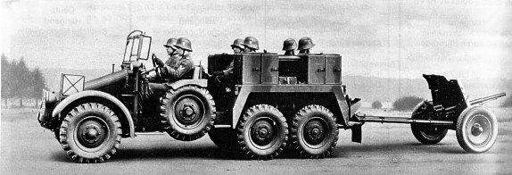 1941 Krupp Protze Military Truck