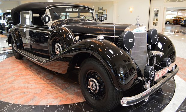 1941, Mercedes Benz 770K Hitler's car a
