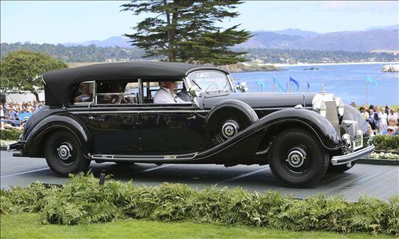 1941 Mercedes Benz 770K W150 Offener Tourenwagen