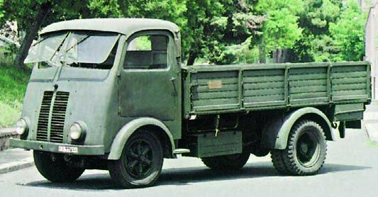 1942 Isotta-Fraschini D65UMB