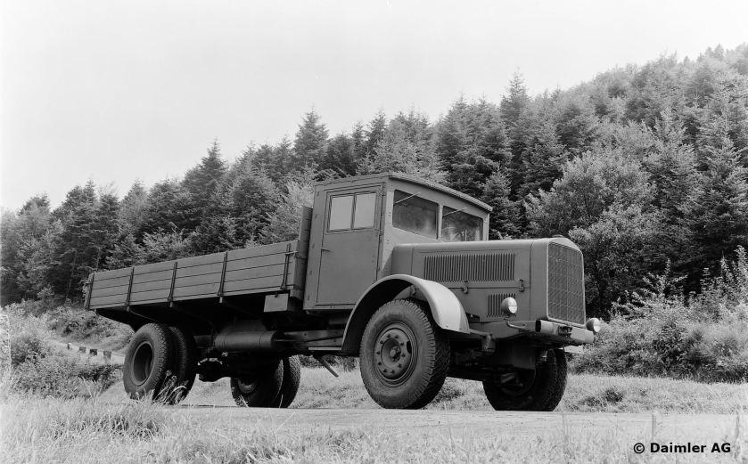 Mercedes-Benz 4,5-t-Lastwagen Typ L 4500, 1945.