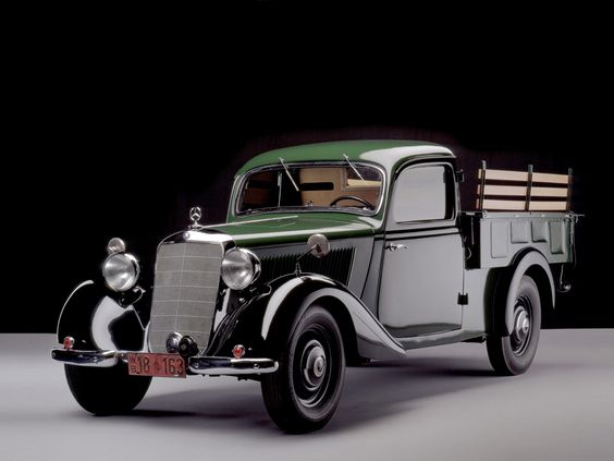 1946-49 Mercedes Benz 170 V Pickup