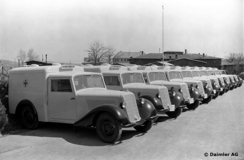 Mercedes-Benz Krankenwagen Typ 170 V (W 136 I), 1946.