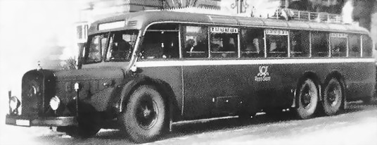 1946 Mercedes-Benz O 10000k4 Saarpost